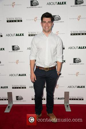 Max Greenfield - Los Angeles premiere of 'About Alex' at ArcLight Hollywood - Arrivals - Los Angeles, California, United States...