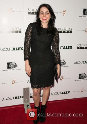 Mae Whitman - Los Angeles premiere of 'About Alex' at ArcLight Hollywood - Arrivals - Los Angeles, California, United States...