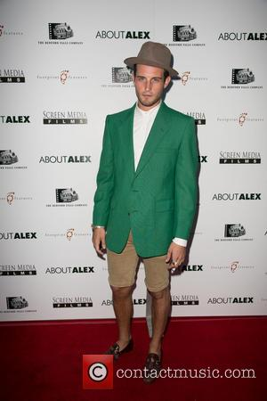 Nico Tortorella - Los Angeles premiere of 'About Alex' at ArcLight Hollywood - Arrivals - Los Angeles, California, United States...