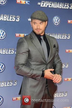 Kellan Lutz - German premiere of 'The Expendables 3' at Residenz movie theatre. - Cologne, Germany - Wednesday 6th August...