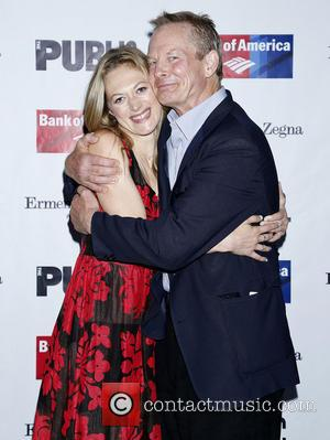 Marin Ireland and Bill Irwin - Opening night of 'King Lear' held at the Delacorte Theater - Arrivals - New...