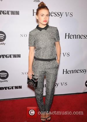 Holland Roden - LADYGUNN 9th Issue release party held at No Vacancy - Arrivals - Los Angeles, California, United States...