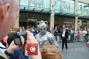 Cyberman - Doctor Who World Tour - Red carpet event at St David's Hall in Cardiff, Wales - Arrivals -...