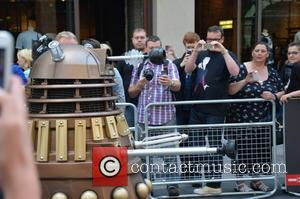 Dalek - Doctor Who World Tour - Red carpet event at St David's Hall in Cardiff, Wales - Arrivals -...
