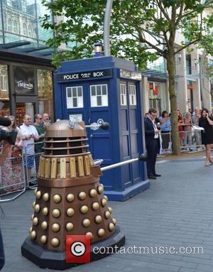 Dalek and Tardis - Doctor Who World Tour - Red carpet event at St David's Hall in Cardiff, Wales -...