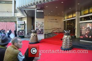 Daleks - Doctor Who World Tour - Red carpet event at St David's Hall in Cardiff, Wales - Arrivals -...
