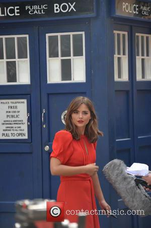Jenna Coleman - Doctor Who World Tour - Red carpet event at St David's Hall in Cardiff, Wales - Arrivals...
