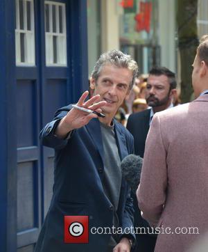 Peter Capaldi - Doctor Who World Tour - Red carpet event at St David's Hall in Cardiff, Wales - Arrivals...
