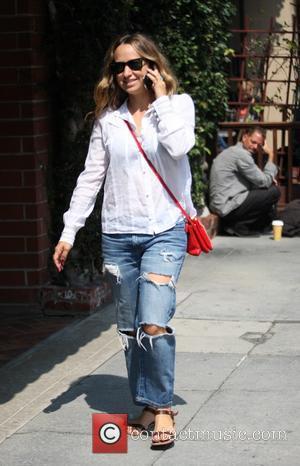 Jennifer Meyer - American jewelry designer Jennifer Meyer goes to a hair salon in Beverly Hills - Beverly Hills, California,...