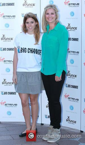 Holly Branson and Princess Beatrice