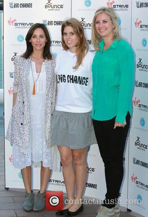 Holly Branson, Princess Beatrice and Natalie Imbruglia