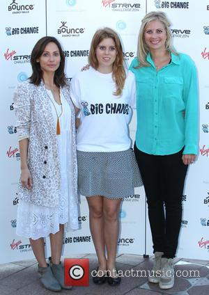 Natalie Imbruglia, Princess Beatrice and Holly Branson