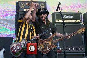 Lemmy Kilmister, Phil Campbell and Motörhead