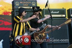 Phil Campbell, Lemmy Kilmister and Motörhead