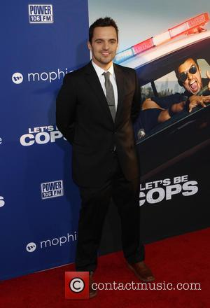 Jake Johnson - 'Let's Be Cops' Los Angeles premiere - Arrivals - Hollywood, California, United States - Friday 8th August...
