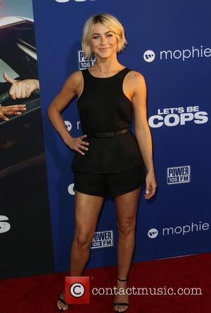 Julianne Hough - 'Let's Be Cops' Los Angeles premiere - Arrivals - Hollywood, California, United States - Friday 8th August...