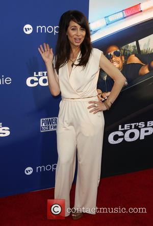 Natasha Leggero - 'Let's Be Cops' Los Angeles premiere - Arrivals - Hollywood, California, United States - Friday 8th August...