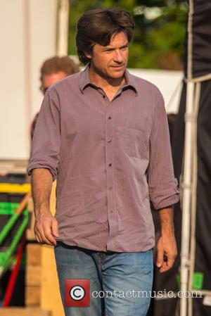 Jason Bateman - Jason Bateman on the set of 'Family Fang,' currently filming in upstate New York - NY, New...