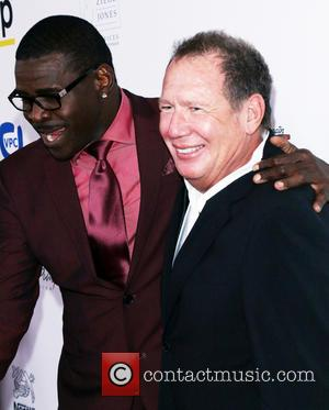 Michael Irvin and Garry Shandling