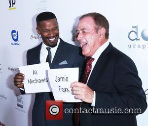 Al Michaels and Jaime Foxx