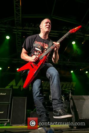 Jeff Waters - Annihilator performing live - 2014  Festival Vagos Open Air - Day 2 - Vagos, Portugal -...