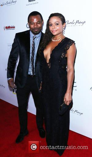 Sugar Shane Mosley and Bella Gonzalez - 14th Annual Harold & Carole Pump Foundation Gala - Arrivals - Los Angeles,...
