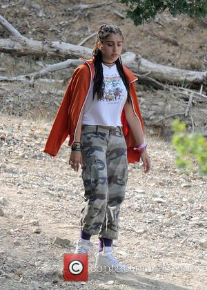 Lourdes Leon - Madonna enjoys a game of paintball with her boyfriend and children on a family holiday near Cannes...