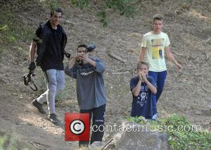 Timor Steffens - Madonna on a family holiday near Cannes