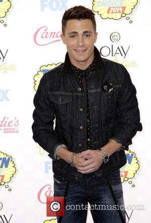 Colton Haynes - FOX's 2014 Teen Choice Awards at The Shrine Auditorium - Arrivals - Los Angeles, California, United States...