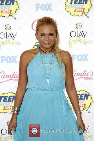 Alli Simpson - FOX's 2014 Teen Choice Awards at The Shrine Auditorium - Arrivals - Los Angeles, California, United States...