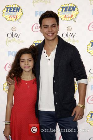 Jake T. Austin and Guest
