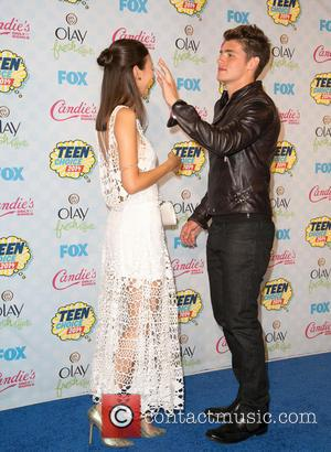 Gregg Sulkin and Victoria Justice - Celebrities attend the 2014 Teen Choice Awards at The Shrine Auditorium - Arrivals -...