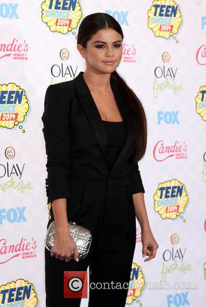 Selena Gomez - The 2014 Teen Choice Awards at The Shrine Auditorium - Arrivals - Los Angeles, California, United States...