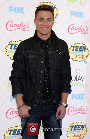 Colton Haynes - 2014 Teen Choice Awards held at The Shrine Auditorium - Arrivals - Los Angeles, California, United States...