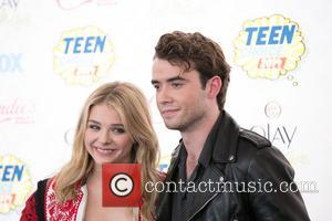 Chloë Grace Moretz and Jamie Blackley - Celebrities attend the 2014 Teen Choice Awards at The Shrine Auditorium - Arrivals...