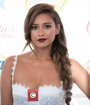 Shay Mitchell - Celebrities attend the 2014 Teen Choice Awards at The Shrine Auditorium - Arrivals - Los Angeles, California,...