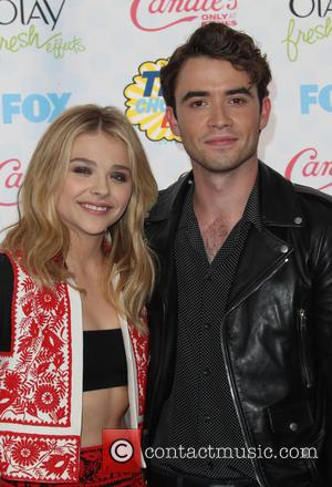 Chloe Moretz and Jamie Blackley