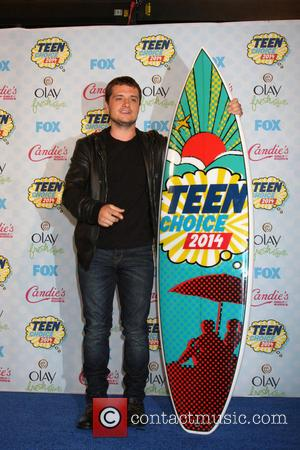 Josh Hutcherson - Celebrities attend the 2014 Teen Choice Awards at The Shrine Auditorium - Arrivals - Los Angeles, California,...