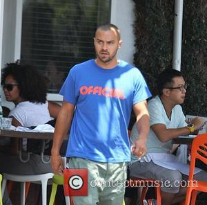 Jesse Williams - Actor and model Jesse Williams spotted here having had lunch at the Fred Segal café wearing a...