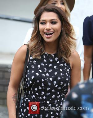 Vanessa White - The Saturdays outside the ITV Studios on a sunny day in Waterloo, Central London, United Kingdom -...