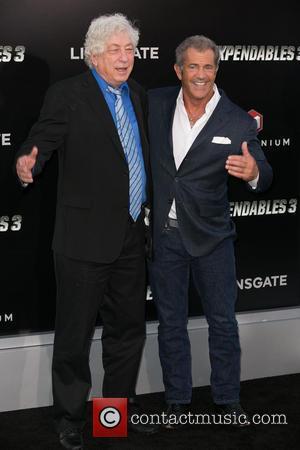 Avi Lerner and Mel Gibson