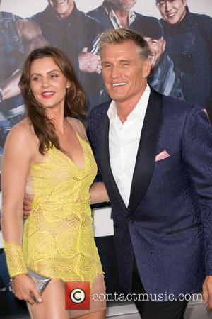 Guest and Dolph Lundgren - Stars attended the Premiere of 'The Expendables 3' on August 11th 2014 which was held...