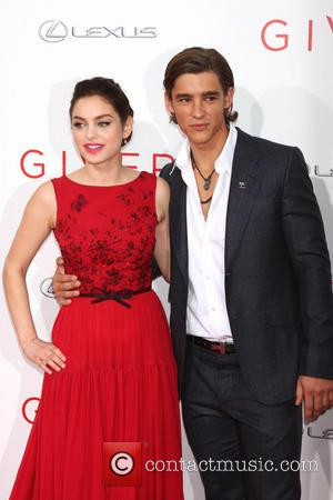 Odeya Rush and Brenton Thwaites - Stars attend the New York Premiere of the upcoming social science fiction movie 'The...