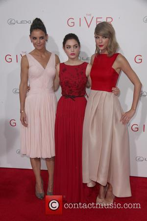 Katie Holmes, Odeya Rush and Taylor Swift