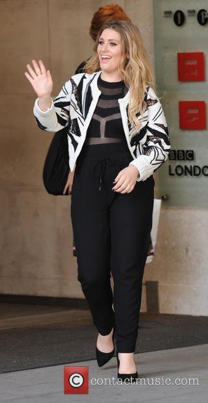 Ella Henderson - BBC Radio 1 host Fearne Cotton and singer songwriter Ella Henderson arrive at the BBC Radio 1...