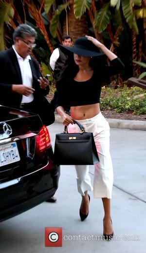 Naya Rivera - Celebrities including Glee star Naya Rivera with husband Ryan Dorsey and 90210 actress Shenae Grimes accompanied by...