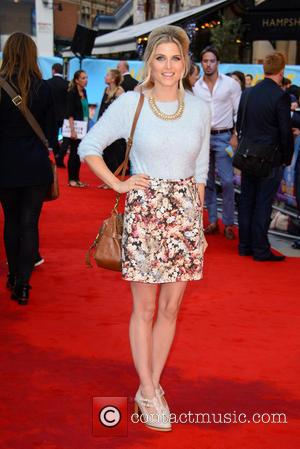 Ashley James - 'What If' - UK film premiere - Arrivals - London, United Kingdom - Tuesday 12th August 2014