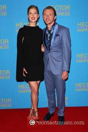 Rosamund Pike and Simon Pegg