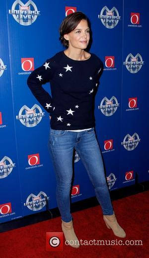 Katie Holmes - Marvel Universe Live at Barclays Center in New York City - New York City, New York, United...