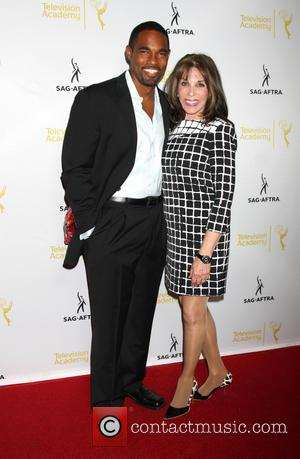 Jason George and Kate Linder